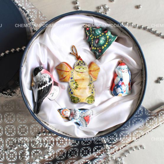 Подарочный набор Набор елочных игрушек