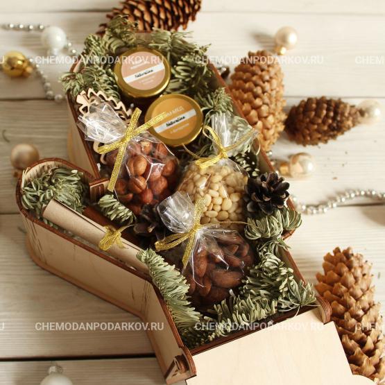 Подарочный набор Ореховые варежки