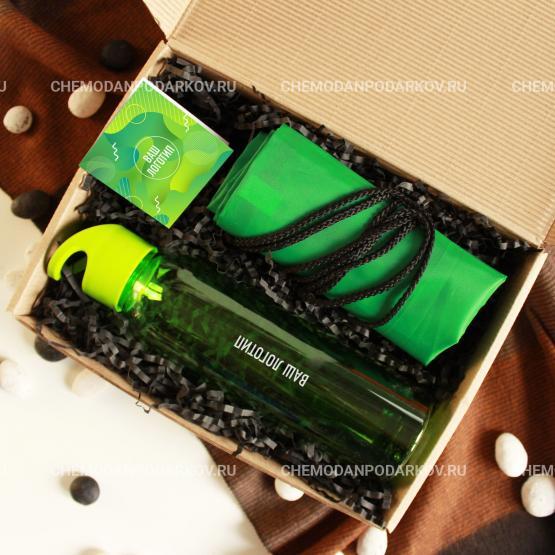 Подарочный набор Зеленая волна