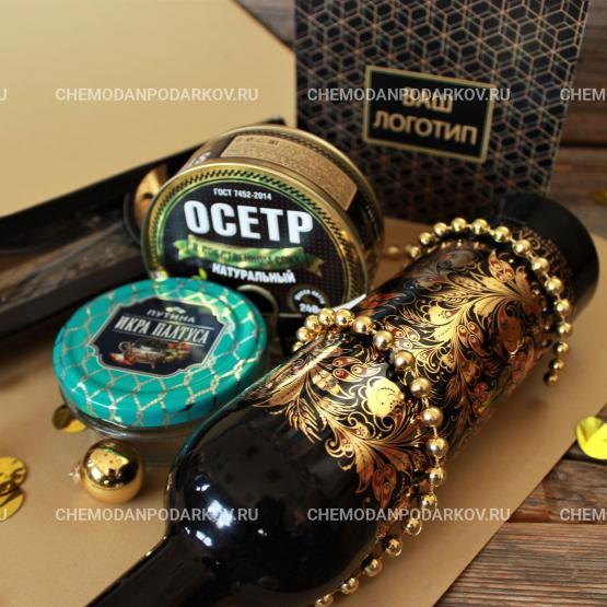 Подарочный набор Золотая хохлома