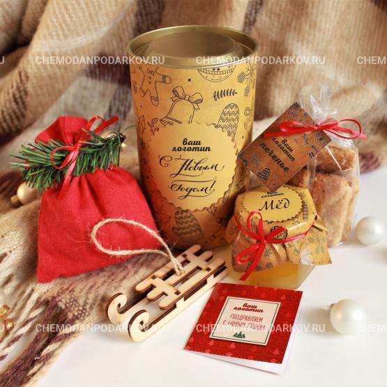 Подарочный набор Зимние саночки