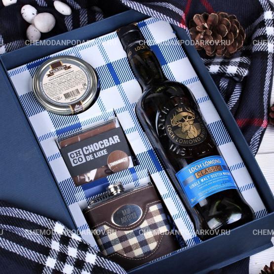 Подарочный набор Уют шотландской клетки