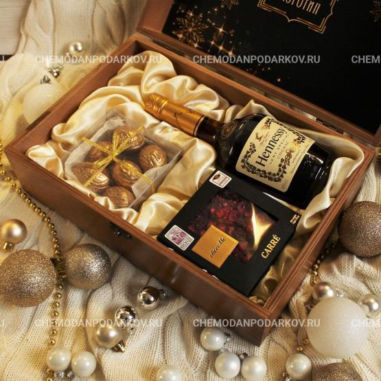 Подарочный набор Золотой Hennessy