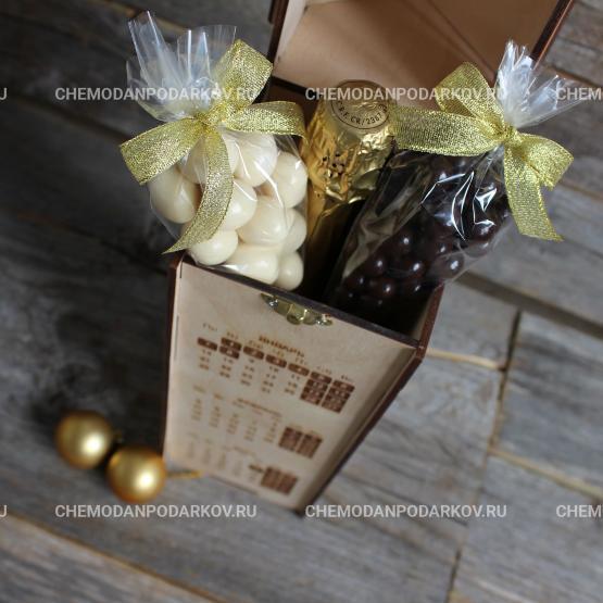 Подарочный набор Домашнее шампанское