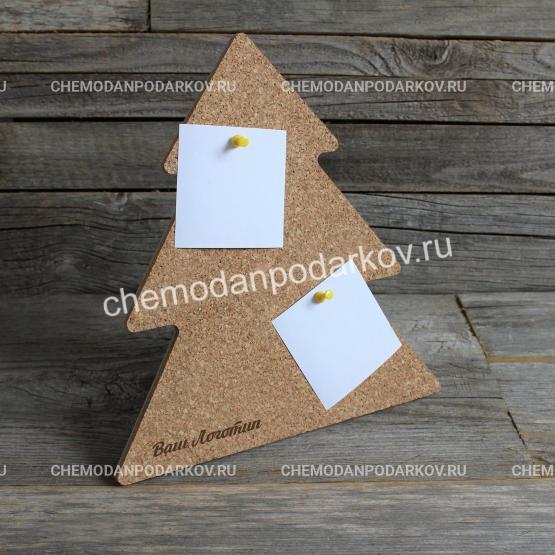 Подарочный набор Доска для заметок Елочка