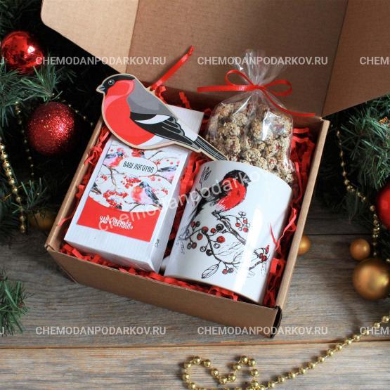 Подарочный набор Щебетание снегирей