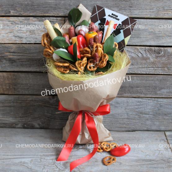 Подарочный набор Мужской букет