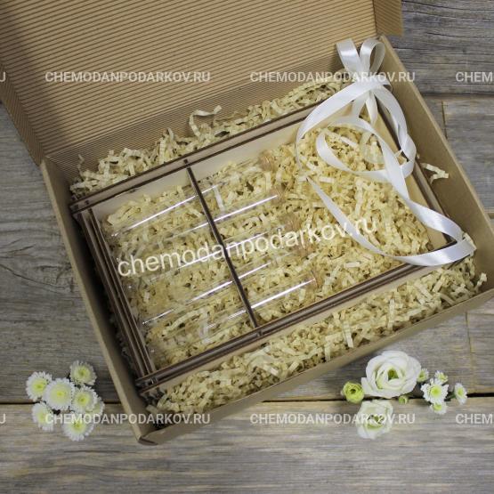 Подарочный набор Рамка с колбами