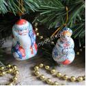 Подарочный набор Дед Мороз и Снегурочка
